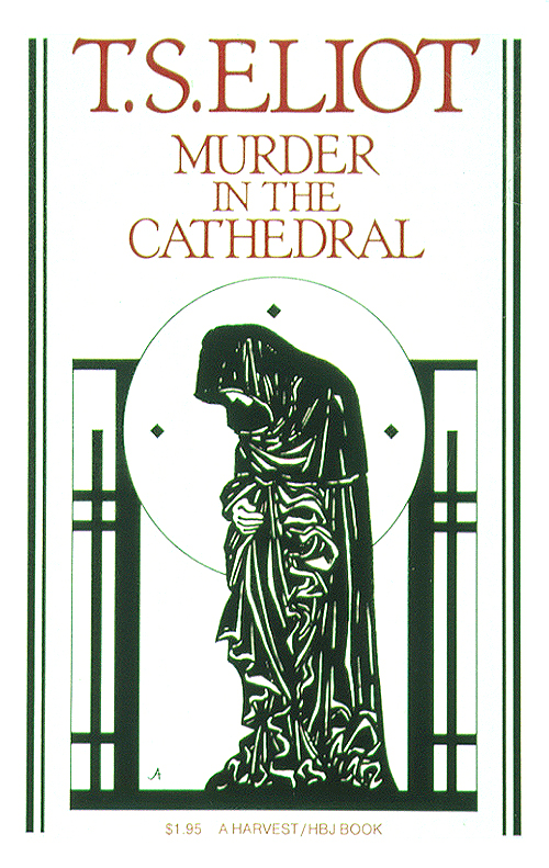 analysis of murder in the cathedral Murder in the cathedral is a verse drama by t s eliot that portrays the assassination of archbishop thomas becket in canterbury cathedral in 1170, first performed in 1935 eliot drew heavily on the writing of edward grim, a clerk who was an eyewitness to.