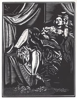 Scarlet Women Moll Flanders paper corset sculpture